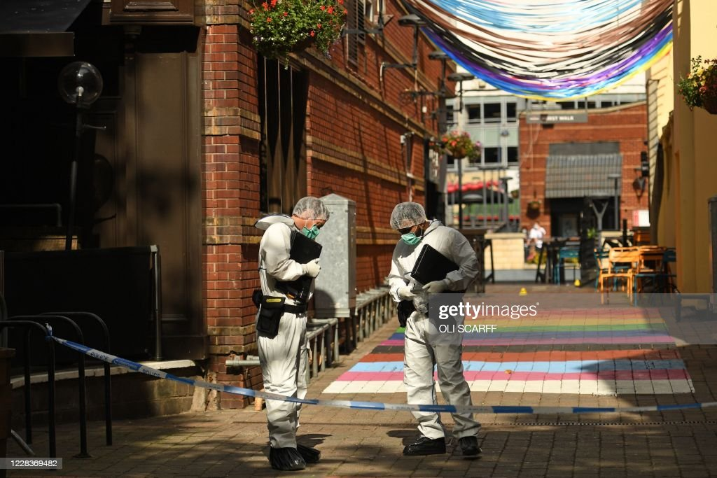 BRITAIN-POLICE-INCIDENT : News Photo