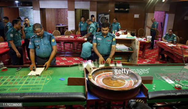 Police found casino instruments and Tk 1 lakh from Mohammedan Sporting Club Arambagh Krira Sangha Dilkusha Sporting Club and Victoria Sporting Club...