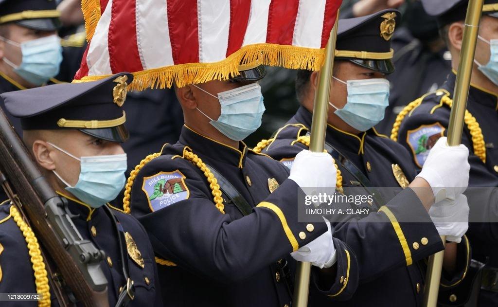 US-HEALTH-VIRUS-FUNERAL : News Photo