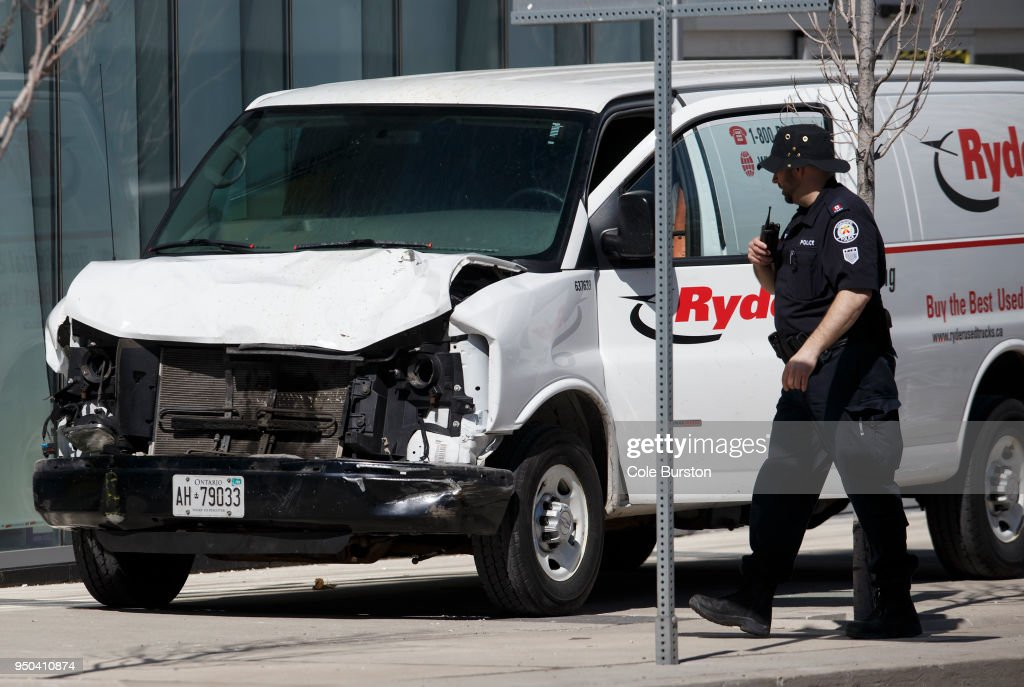 Van Hits Multiple Pedestrians In Toronto