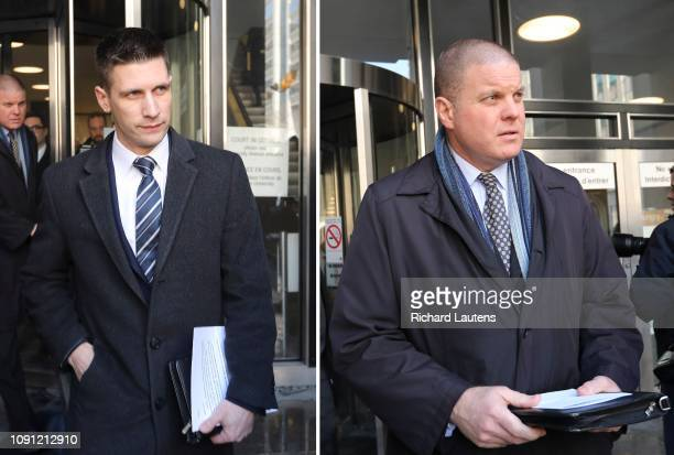 Police Inspector Hank Idsinga leaves the court There was a court appearance for alleged serial killer Bruce McArthur at 361 University Avenue where...