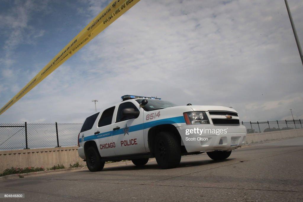 Chicago Police Announce Federal Effort At Curbing Violence Via Illegal Gun Crack Down : News Photo