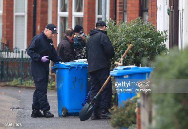 Police investigating the disappearance of 21yearold Libby Squire carry out searches in Wellesley Avenue in Hull