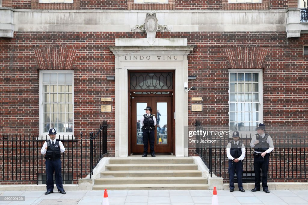Preparations At The Lindo Wing Ahead Of The Birth Of The Duke & Duchess Of Cambridge's Third Child