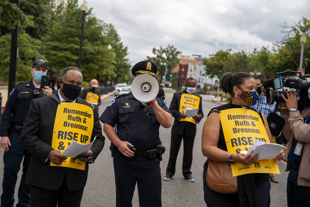 DC: Poor People's Campaign Holds Rally At U.S. Capitol