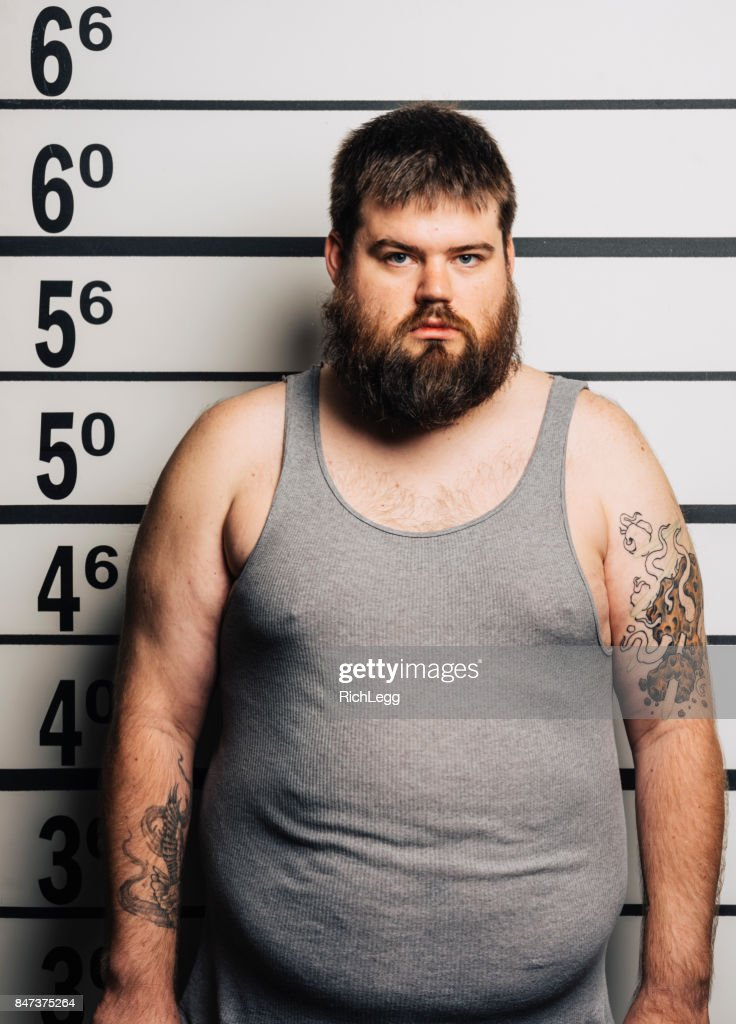 Police Line-up Mugshot : Stock Photo