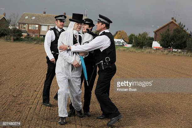 Police manage to intercept some of the climate activists but let them all go after confiscating various suspecious items Crude Oil Awakening is a...