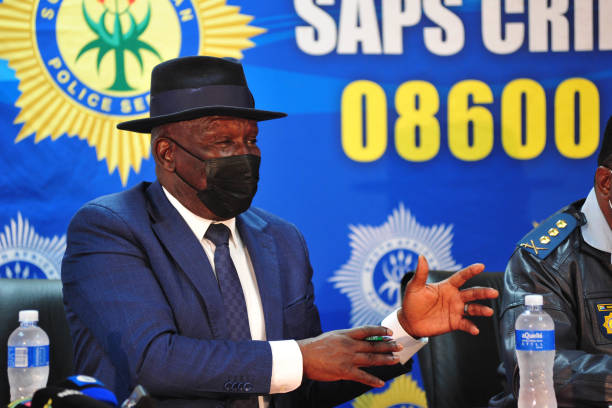 ZAF: South African Minister Cele briefs the media on matters related to Phoenix violence
