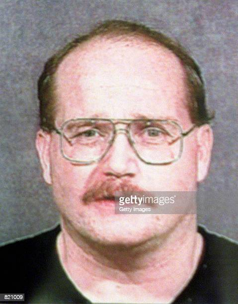A police mug of Buford O''Neal Furrow also known as Buford O Furrow Jr who is a suspect in Tuesday's Jewish community center shootings in Los Angeles...