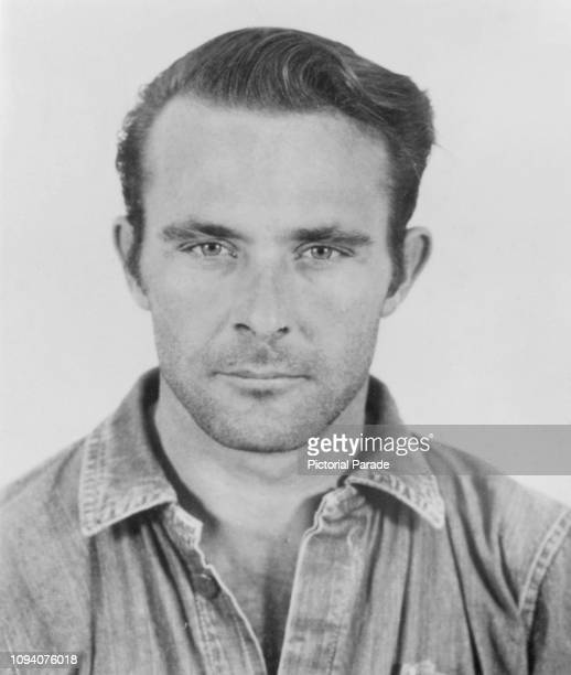 A police mug shot of American criminal Clarence Anglin who escaped from Alcatraz Federal Penitentiary in San Francisco on 11th June 1962 Anglin along...
