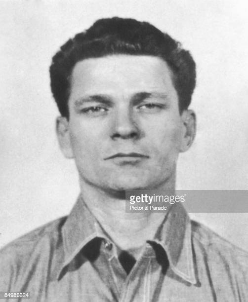 A police mug shot of American criminal Frank Lee Morris taken on his arrival at Alcatraz Federal Penitentiary 20th January 1960 In 1962 Morris along...