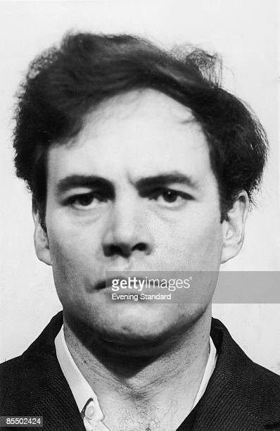 A police mugshot of British serial killer Donald Neilson aka The Black Panther 1975 Neilson was sentenced to life imprisonment in 1976 for the...
