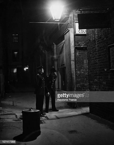 Police Night Patrol In Soho