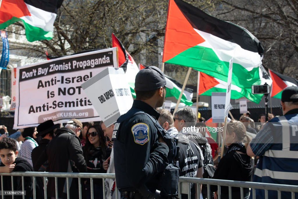 DC: ANTI-AIPAC Protest In Washington, D.C.