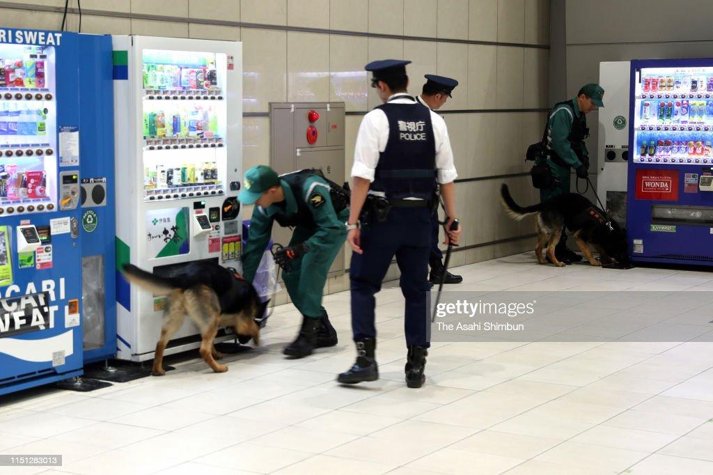 JPN: Security Tightened In Tokyo Ahead Of Visit Of US President Trump