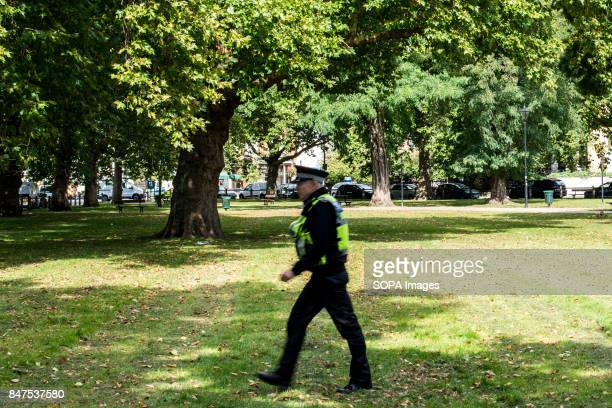Police officer at Parsons Green Several people have been injured after an explosion on a tube train in southwest London The Police are treating the...