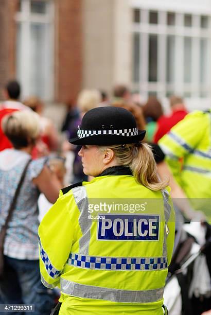 Police officer during Mathew Street Festival