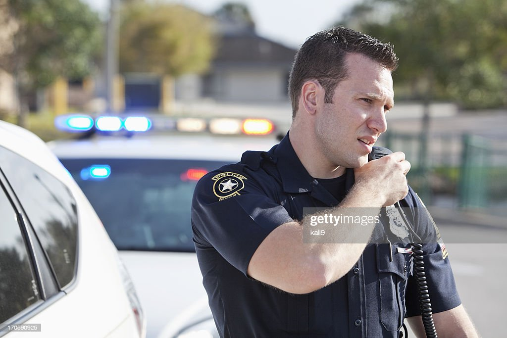 Police officer : Stock Photo