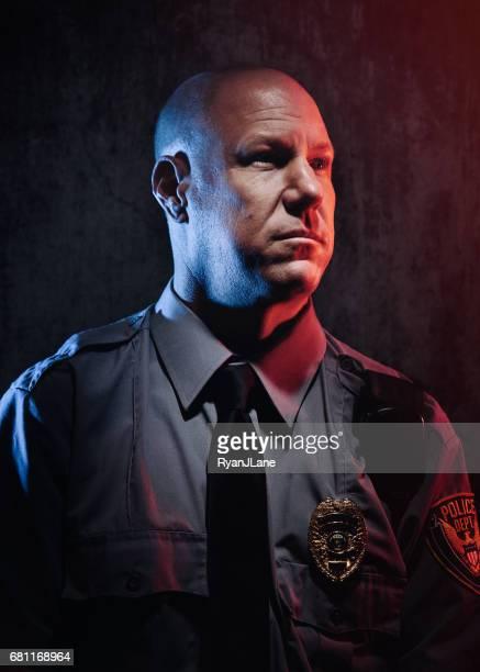 Polizist Porträt