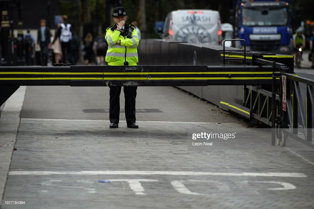 Westminster Remains On Heightened Security Alert Following Crash