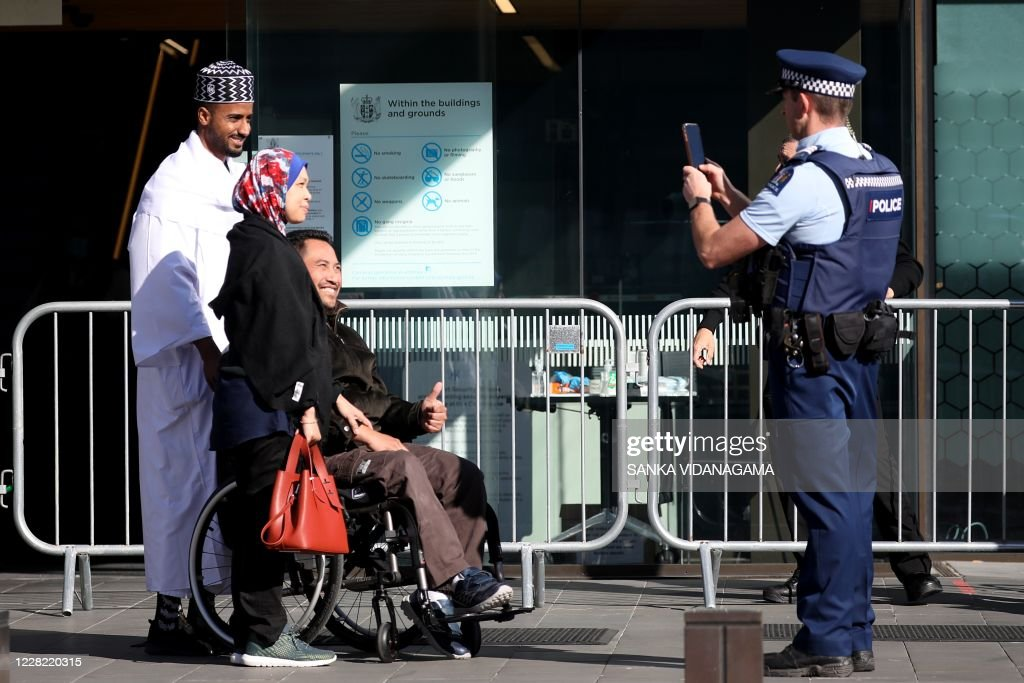 NZEALAND-AUSTRALIA-ATTACKS-MOSQUES-COURT : Nieuwsfoto's