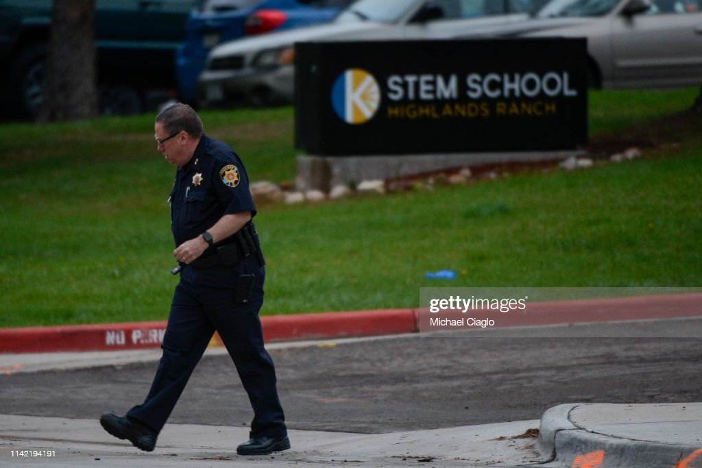 School Shooting In Highlands Ranch, Colorado Leaves 1 Dead And Multiple Injured : News Photo