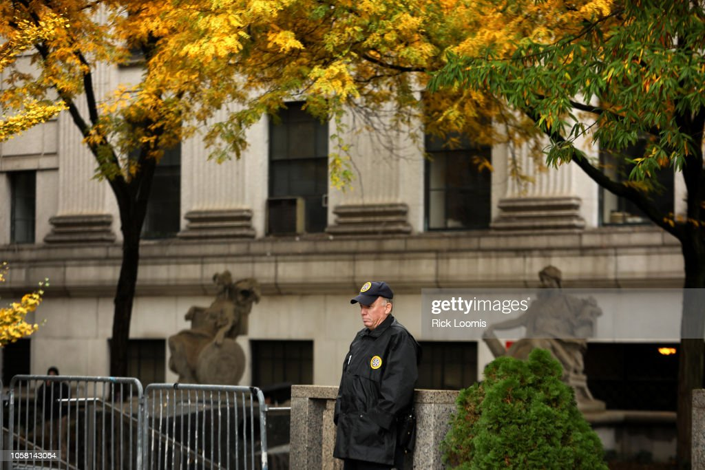 Package Bomber Cesar Sayoc Appears In New York Federal Court : News Photo