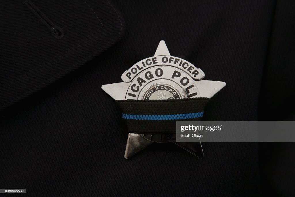 Funeral Held For Chicago Police Officer Killed In Mercy Hospital Shooting : News Photo
