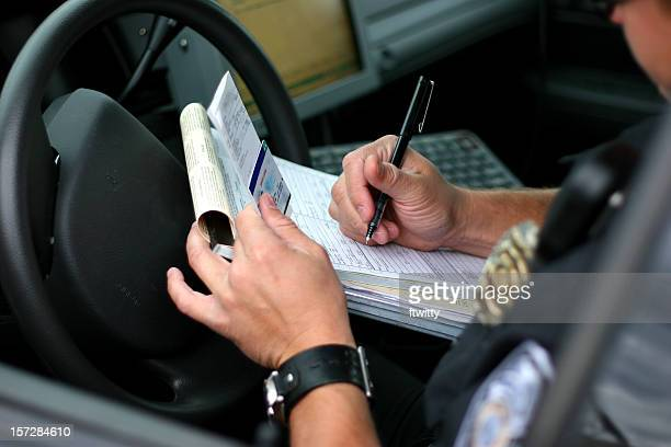 Police Officer Writing Ticket 2