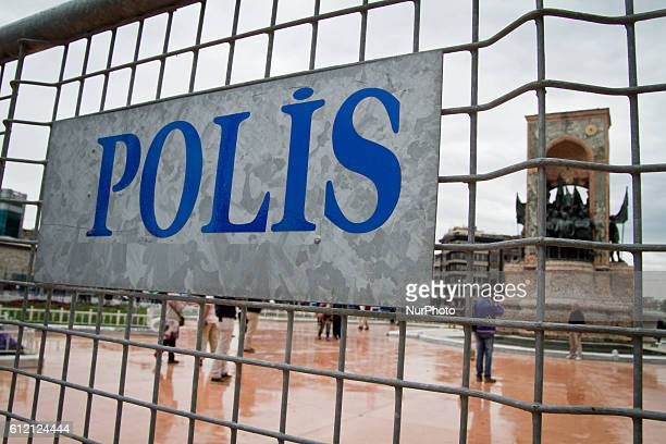 39000 police officers and 50 water cannons are prepared to empeach people to gather Taksim square for the 1st of May labour day demonstrations...