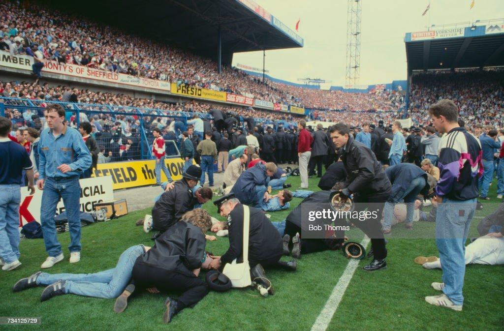 Hillsborough Disaster : News Photo
