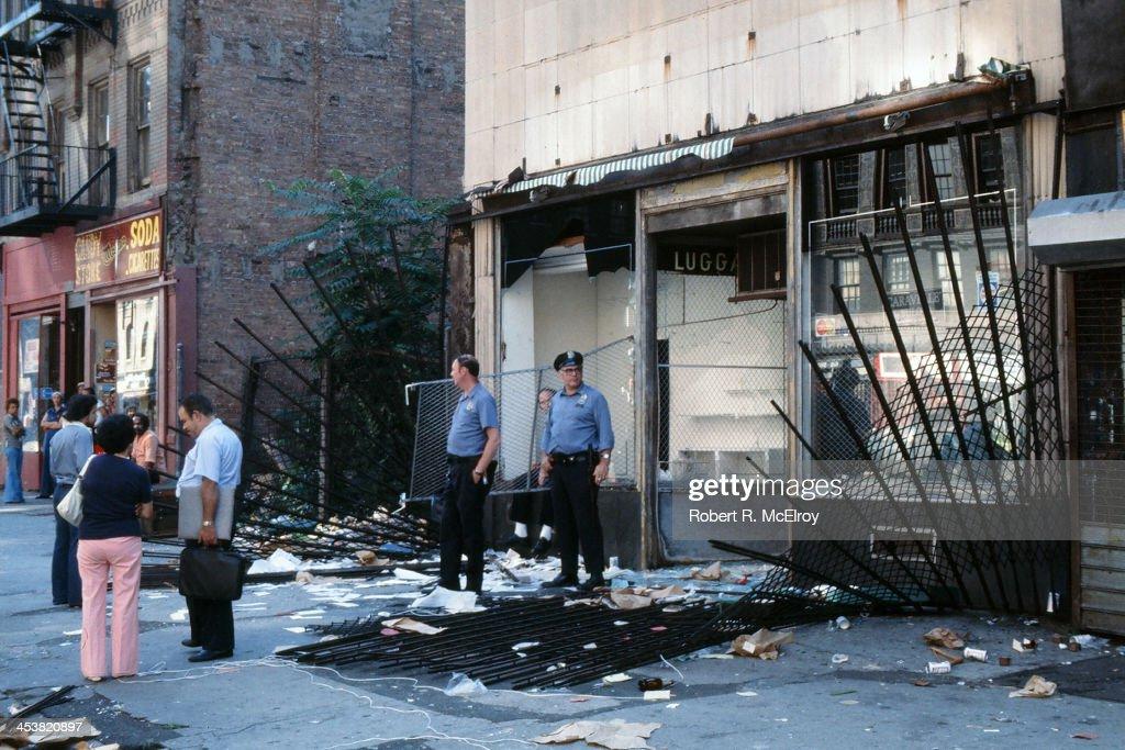 NYC Blackout : News Photo