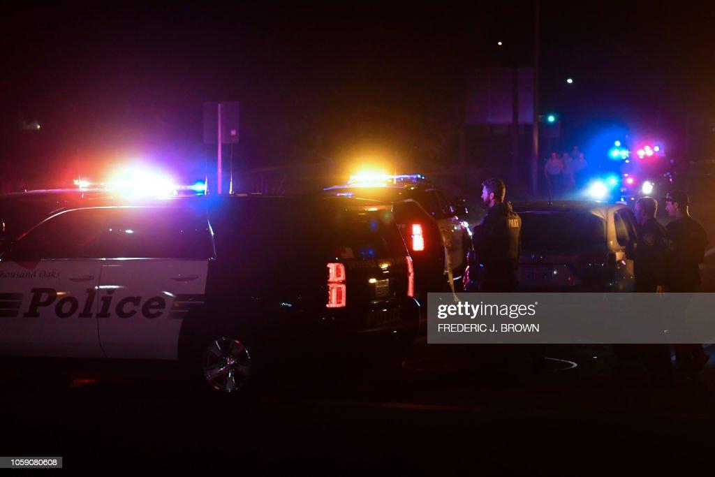 TOPSHOT-US-SHOOTING-CALIFORNIA : News Photo