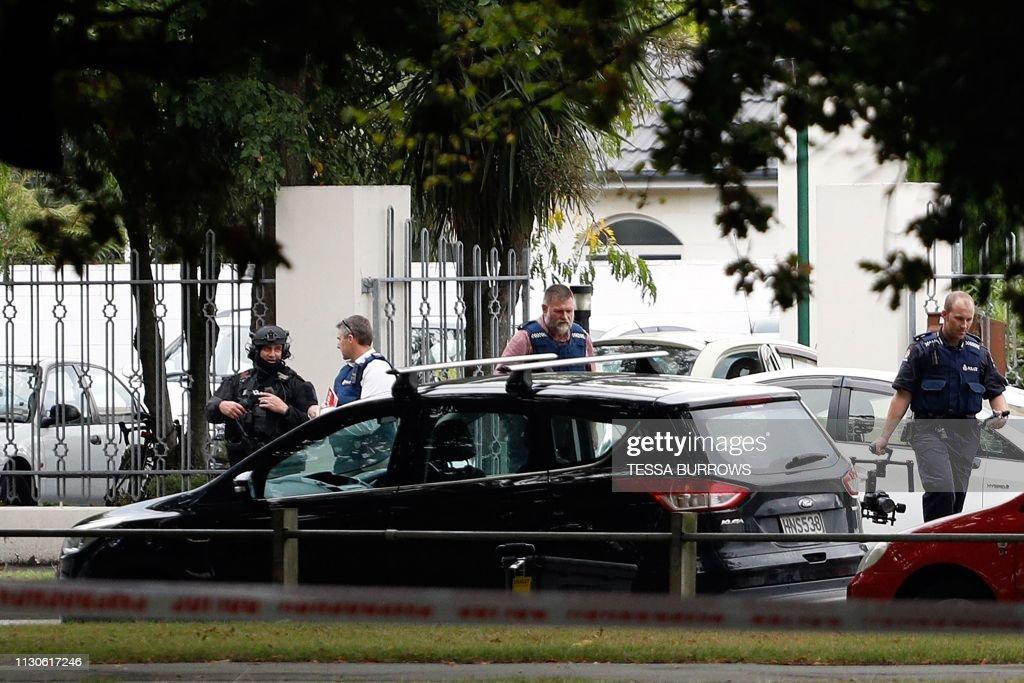 NZEALAND-CRIME-SHOOTING : News Photo