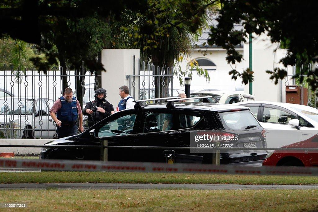 NZEALAND-CRIME-SHOOTING : Foto jornalística