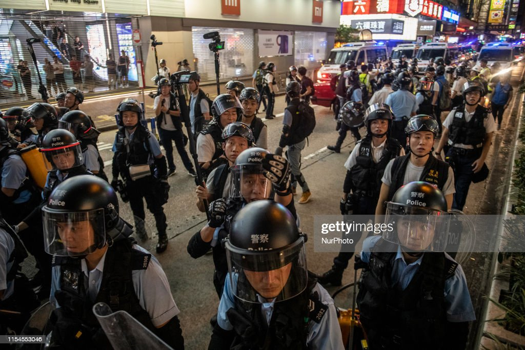 Anti-Extradition Protests In Hong Kong : Nachrichtenfoto