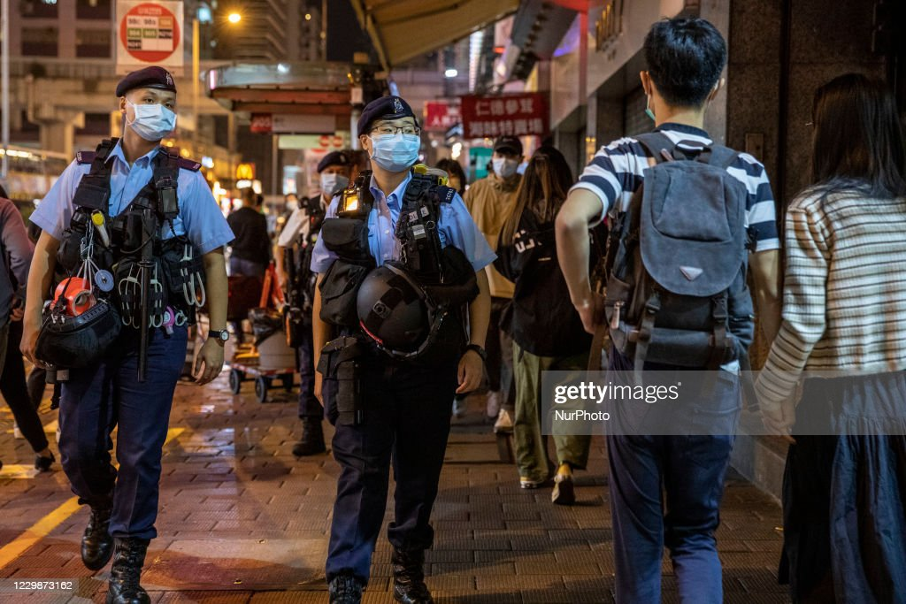 Anti-Government Protest In Hong Kong : ニュース写真