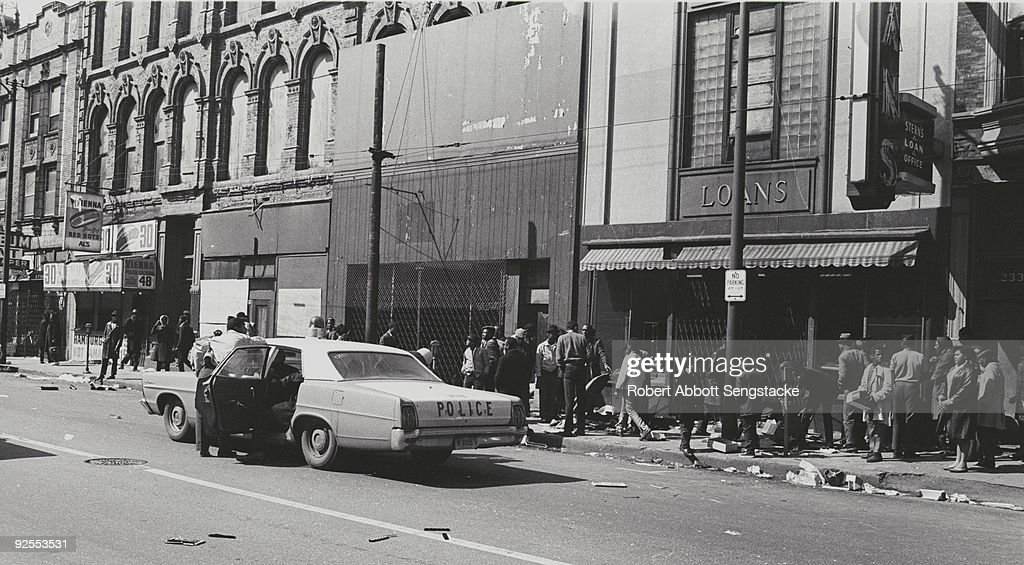 1968 West Side Riots, Chicago : News Photo