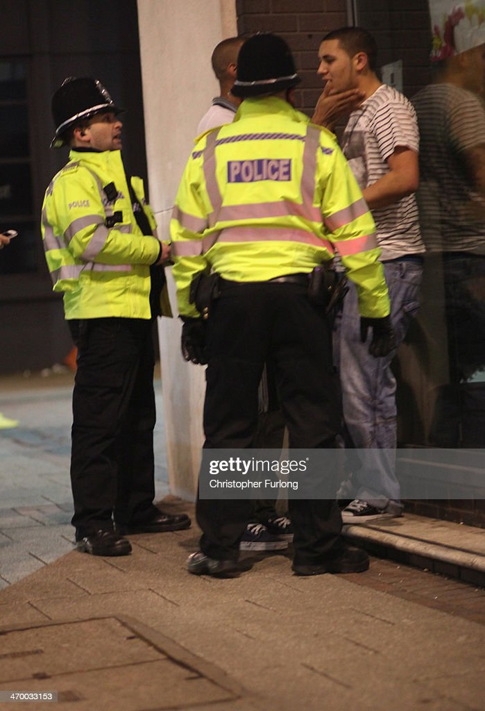 Saturday Night In Birmingham As The Prime Minister Vows To Tackle Drunken Britain : News Photo
