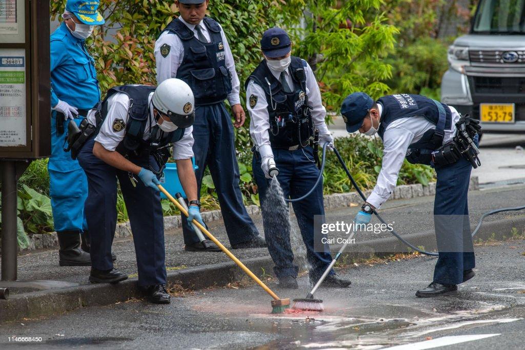 Mass Stabbing In Kawasaki : News Photo