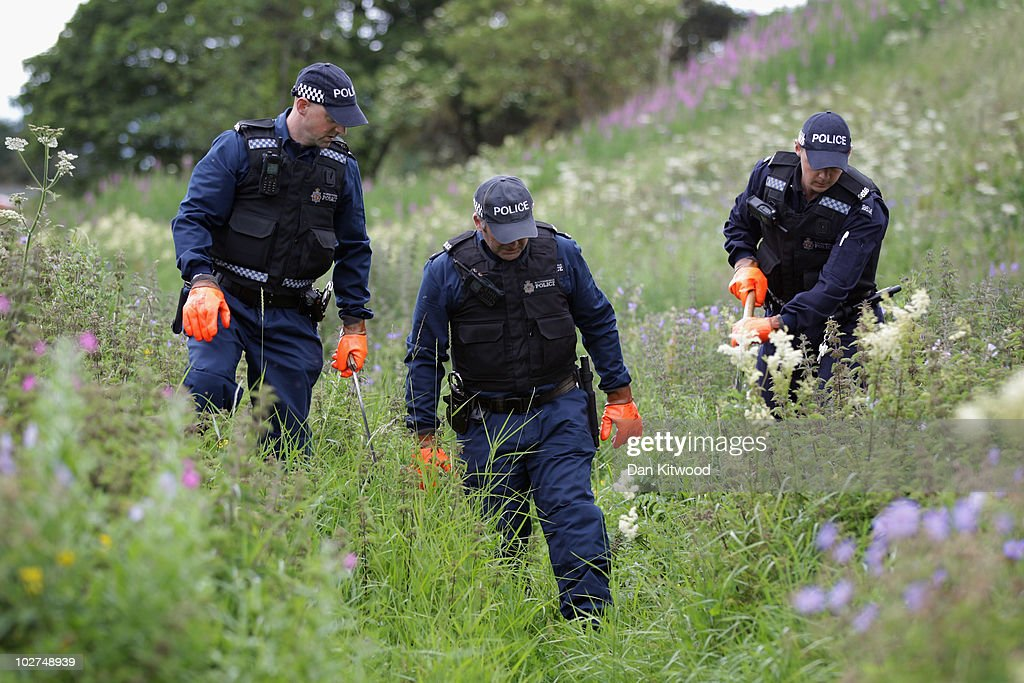 Police Enter Day 7 In the Hunt For Gunman Raoul Moat : News Photo