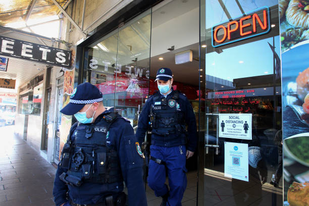 AUS: NSW Increases Restrictions And Police Presence As Covid-19 Cases Reach Daily Record Highs