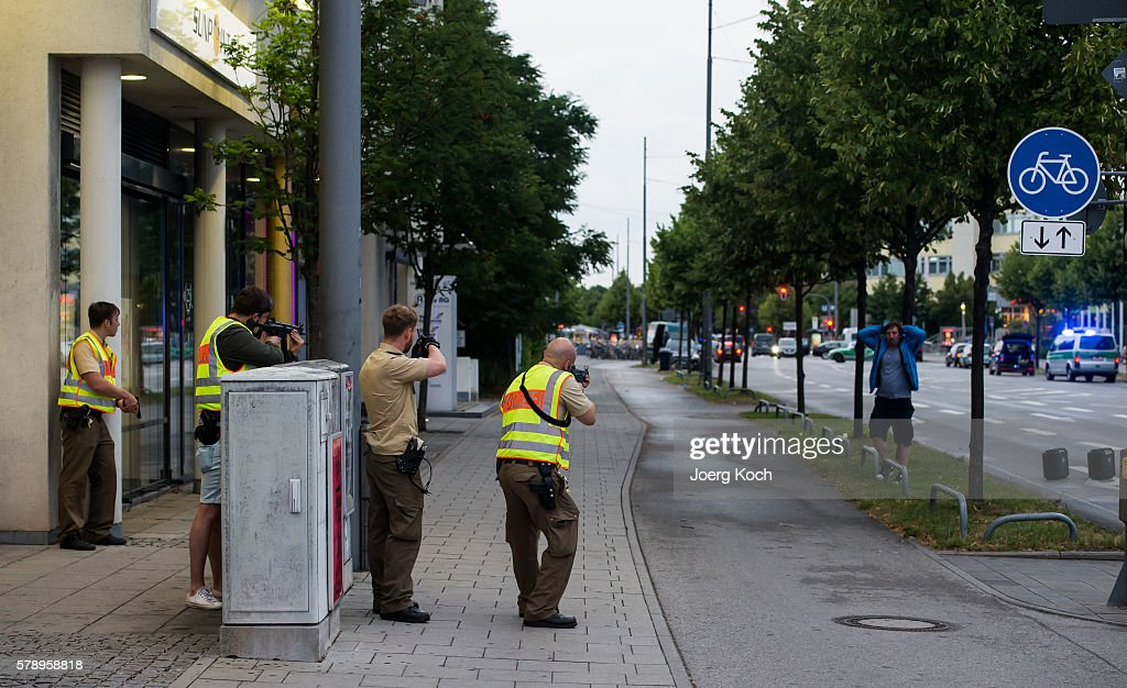 Multiple Deaths In Munich Rampage Shooting : News Photo