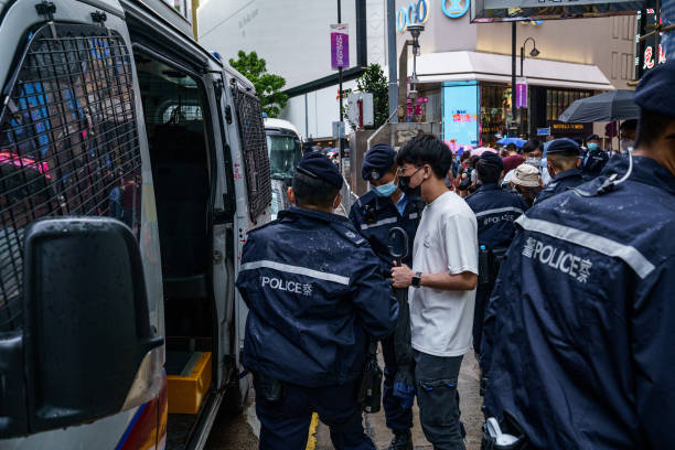 CHN: Hong Kong Marks Anniversary of June 12 Protest Clashes