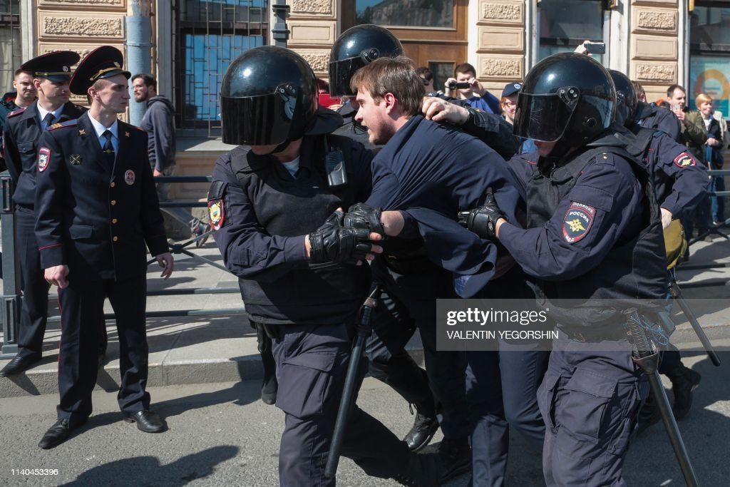 RUSSIA-MAY-DAY-DEMO : News Photo