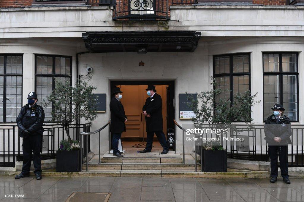 Duke of Edinburgh admitted to hospital : Fotografía de noticias