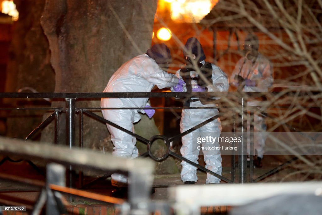 Investigations Continue At The Scene Of Salisbury Spy Poisoning : News Photo