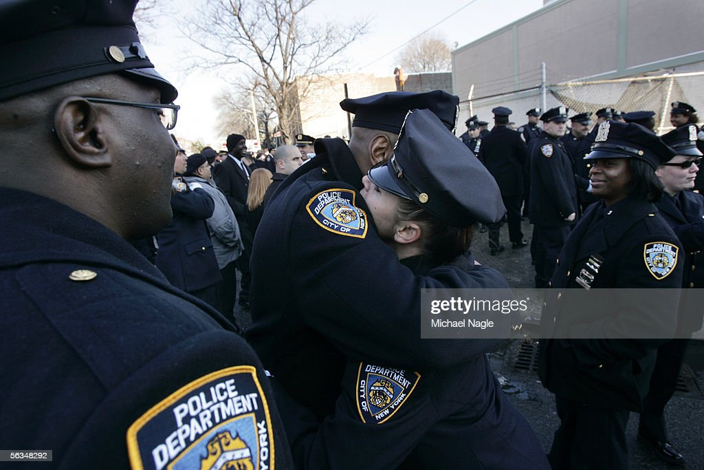 Funeral Held For NYPD Officer Dillon Stewart : News Photo