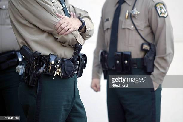 警察オフィサーズ - 保安官 ストックフォトと画像