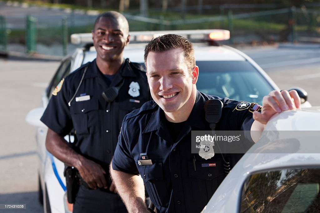 Police officers : Stock Photo